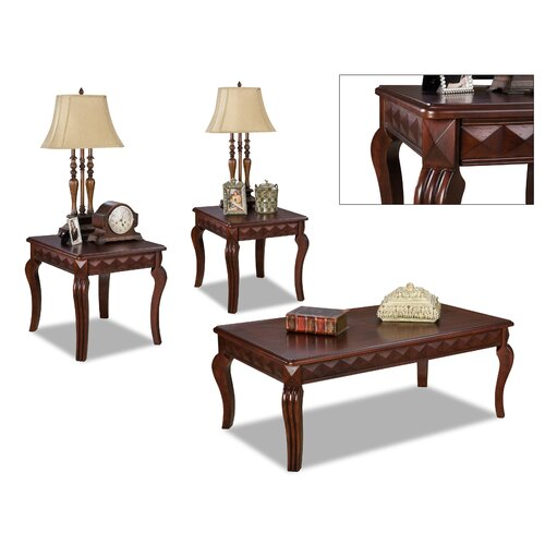 Champaign 3 Piece Coffee Table Set (Set of 3)