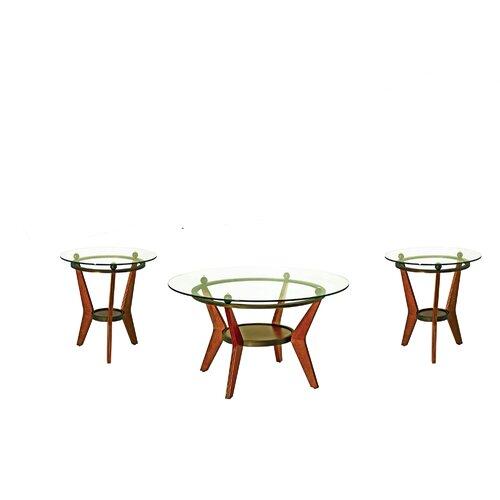 Maywood 3 Piece Coffee Table Set (Set of 3)