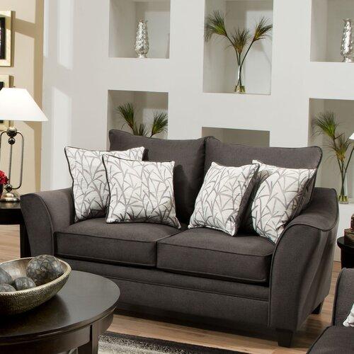 Brady Furniture Industries Bloomingdale Loveseat & Reviews