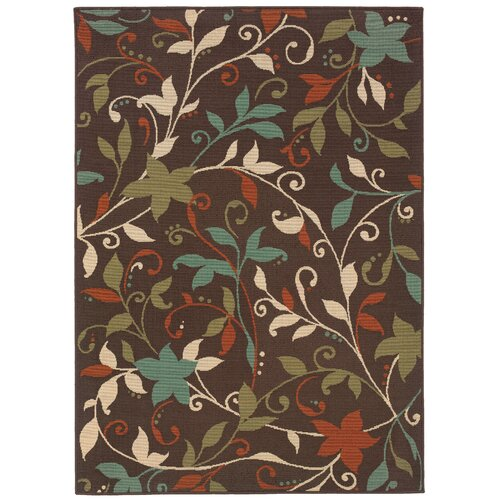 Oriental Weavers Montego Brown/Green Outdoor Rug