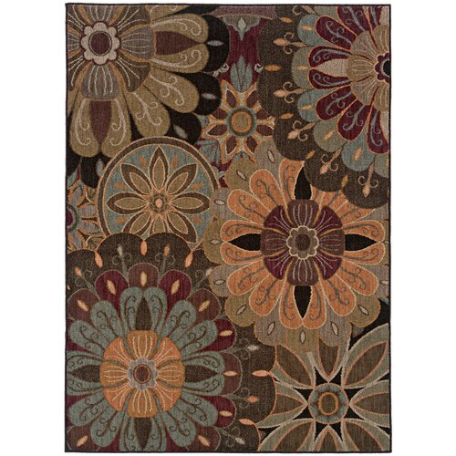 Oriental Weavers Palermo Brown Multi Rug