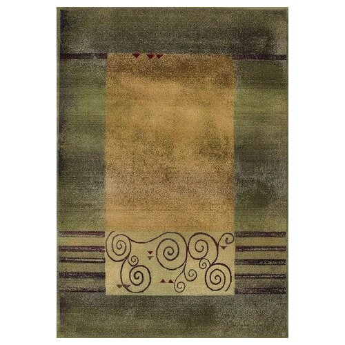 Oriental Weavers Generations Medium Green Rug