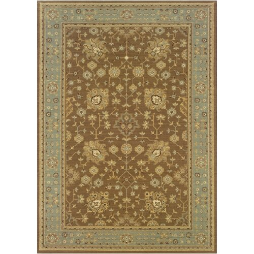 Oriental Weavers Nadira Elana Blues/Tan Rug