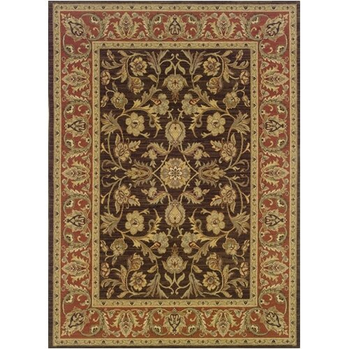 Oriental Weavers Nadira Elana Rust/Brown Rug