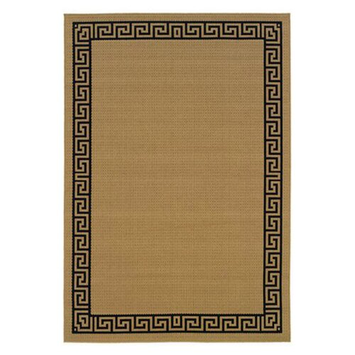 Oriental Weavers Lanai Beige/Black Outdoor Rug
