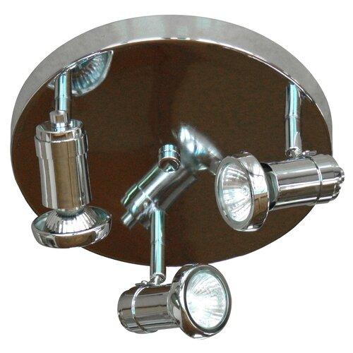 Sheldon 3 Light Pan Light