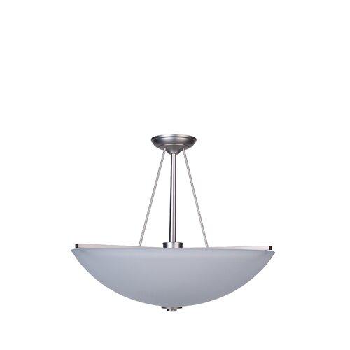 Angel 3 Light Bowl Chandelier