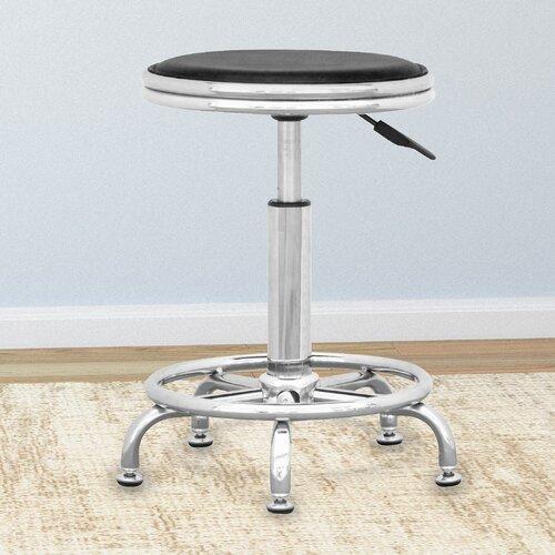 Workspace Height Adjustable Office Stool (Set of 2)