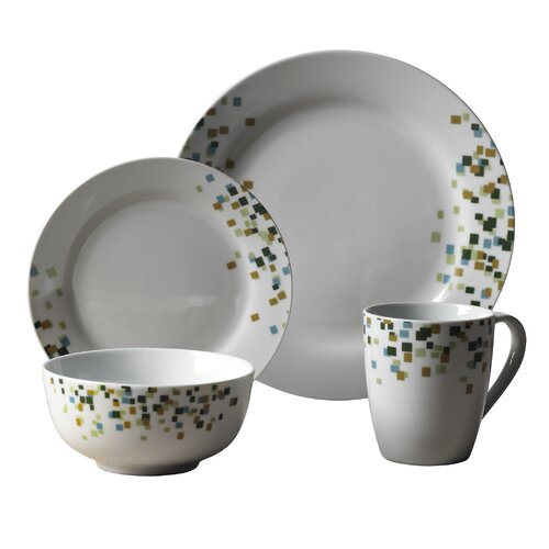 Cadiff 16 Piece Dinnerware Set