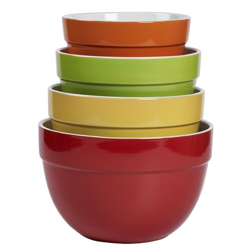 4 Piece Classic Multi Mixing Bowl Set