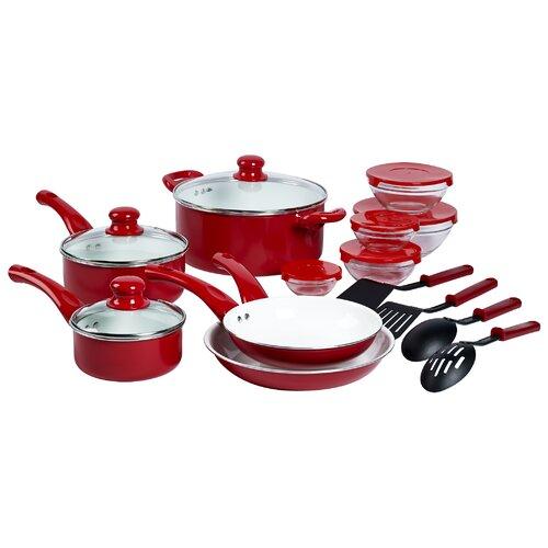 Aluminum 22-Piece Cookware Set