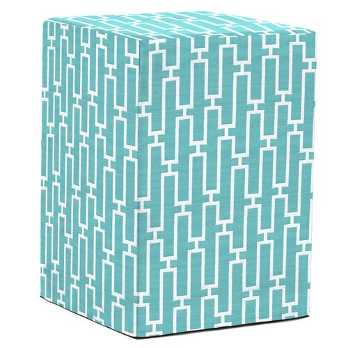 Tall Block Bahama Breeze Ottoman