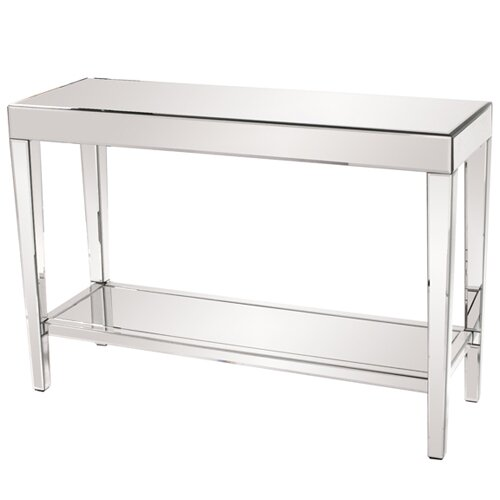 Howard Elliott Mirrored Console Table
