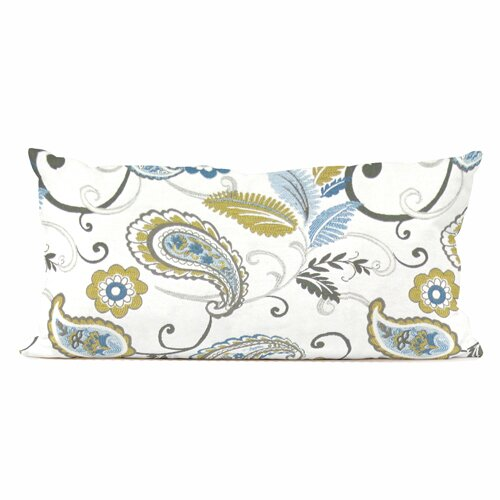 Howard Elliott Kidney Paisley Polyester Pillow