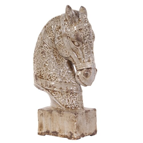 Old World Horse Figurine