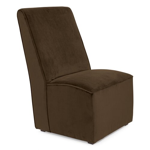 Martini Microsuede Slipper Chair