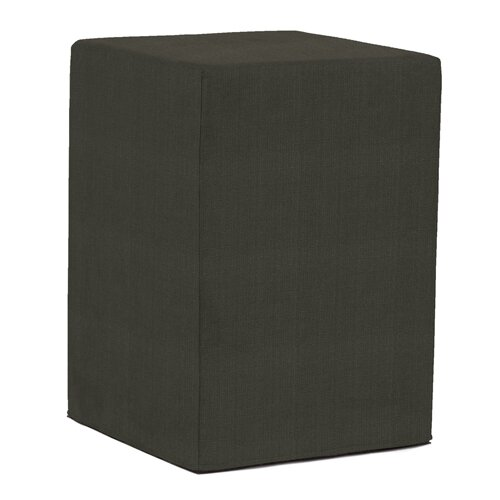 Tall Block Sterling Ottoman