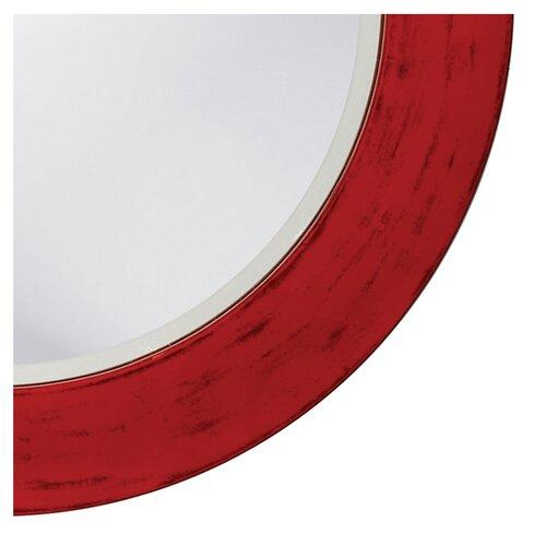 Howard Elliott Transitional Hailey Round Wall Mirror