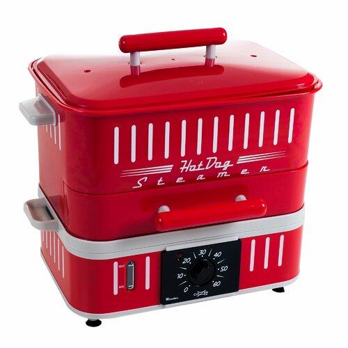 Retro Style Hot Dog Steamer