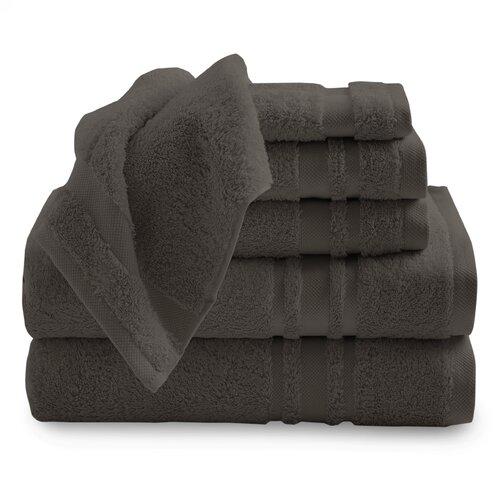 Baltic Linen Luxurious Certified Egyptian Cotton 6 Piece Towel Set