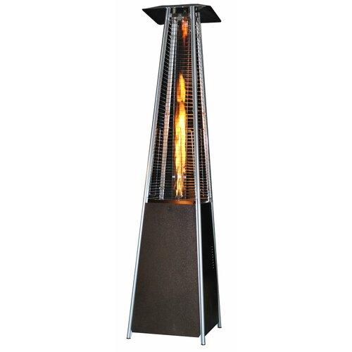Contemporary Square Design Portable Propane Patio Heater