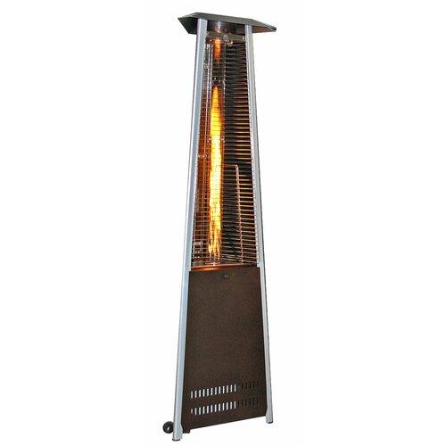 Contemporary Triangle Design Portable Propane Patio Heater