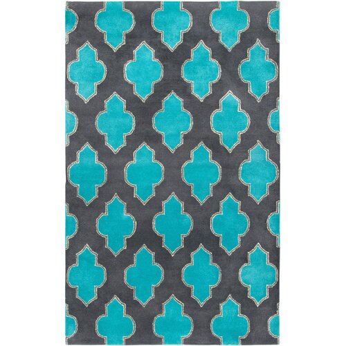 Rizzy Rugs Sterling Gray & Blue Area Rug