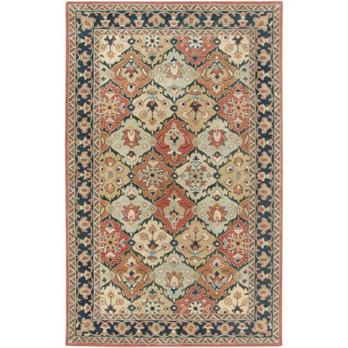 Camden Red/Blue Persian Rug