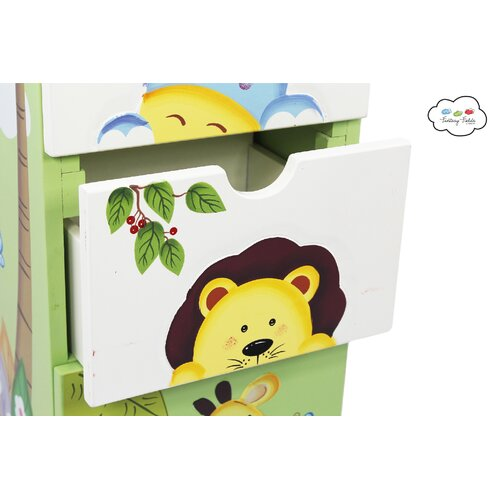 Fantasy Fields Sunny Safari 5 Drawer Cabinet