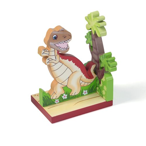 Fantasy Fields Dinosaur Kingdom Book Ends