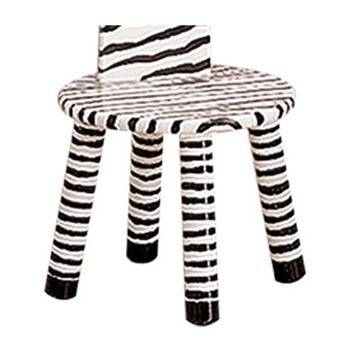 Fantasy Fields Kids Zebra Stool