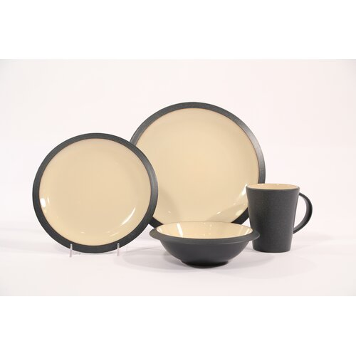 Angled 16 Piece Dinnerware Set