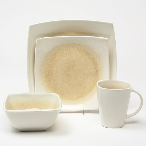 Kashmir 16 Piece Dinnerware Set