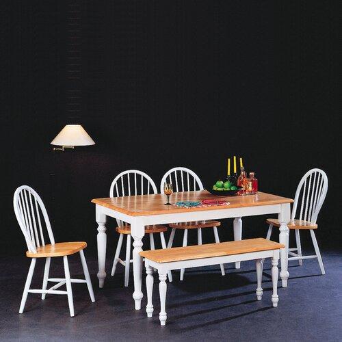Wildon Home ® Morrison Wooden Kitchen Bench