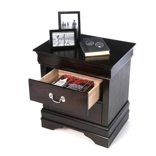 Wildon Home ® Montreal 2 Drawer Nightstand