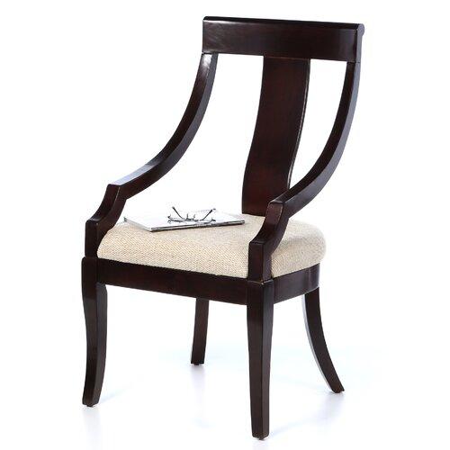 Wildon Home ® Caddoa Home Desk Fabric Arm Chair