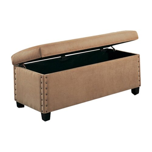 Wildon Home ® Brighton Microfiber Bedroom Storage Bench