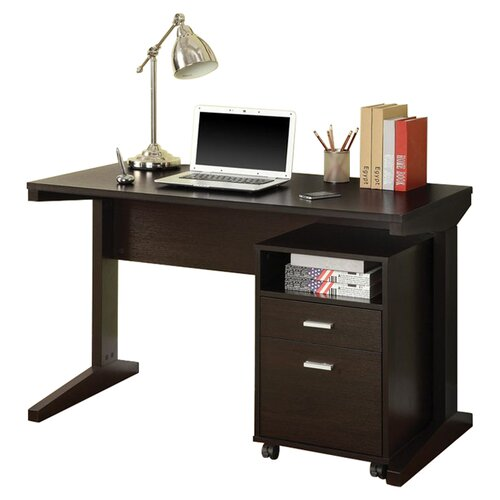 Wildon Home ® Writing Desk with File