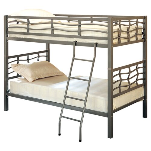 Wildon Home ® Echo Twin over Twin Bunk Bed