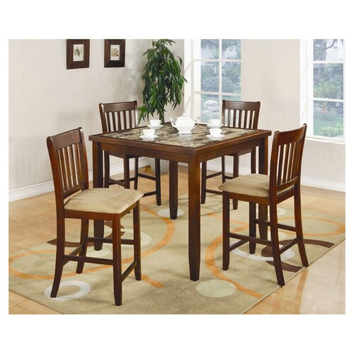 Wildon Home ® Unity 5 Piece Counter Height Dining Set