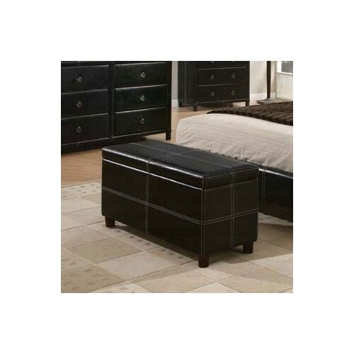 Retro Upholstered Bedroom Ottoman