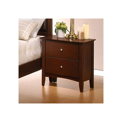 Wildon Home ® Stoneham 2 Drawer Nightstand