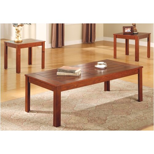 Wildon Home ® Homestead 3 Piece Coffee Table Set