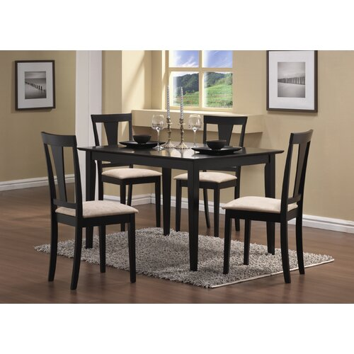 Wildon Home ® Wesley 5 Piece Dining Set