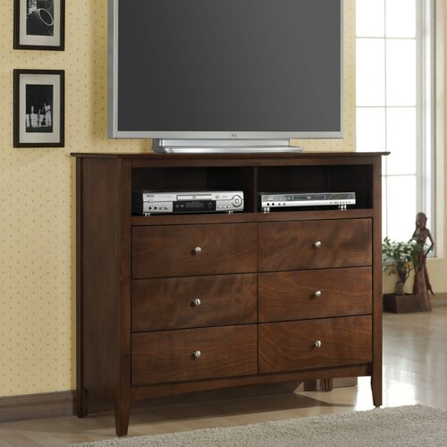 Wildon Home ® Greenville 6 Drawer Media Chest