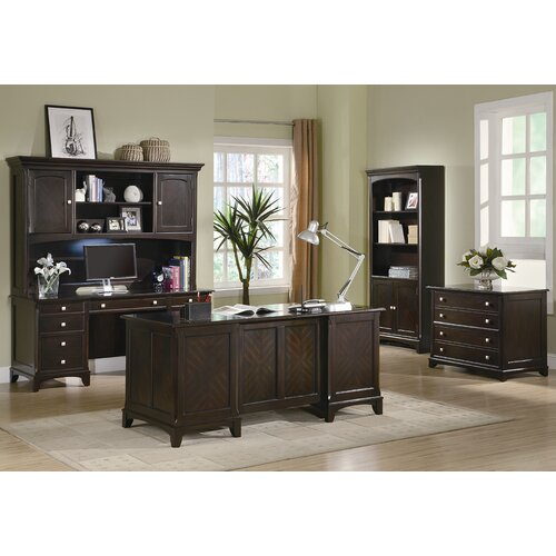 Wildon Home ® Evant Executive Desk