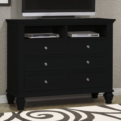 Sankaty 6 Drawer Dresser