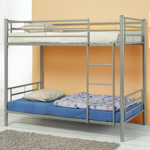 Wildon Home ® Eightmile Twin over Twin Bunk Bed with Built-In Ladder