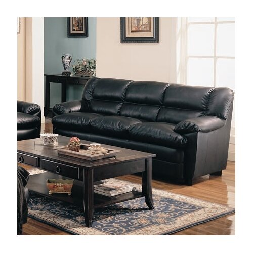 Wildon Home ® Palermo Leather Sofa