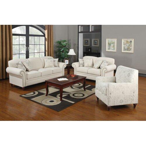 Wildon Home ® Capetown Linen Blend Chair
